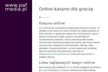 PAFmedia - Profesjonalna Sesja Zdjęciowa Tomaszów