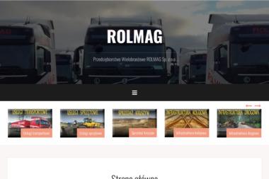 """P.W. """"ROLMAG"""" Sp. z o.o. - Dostawca Ekogroszku Opalenie"""