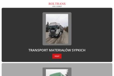 Roltrans KWJ Czerep sp.j. - Transport Ładunków Mońki