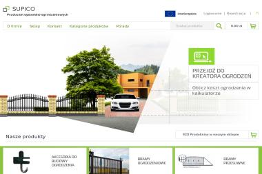"""""""SUPICO"""" Przedsiębiorstwo Produkcyjno-Handlowo-Usługowe - Bramy Garażowe Segmentowe Krzemienica"""