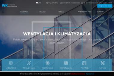 """BPU """"WiK"""" Wentylacja i Klimatyzacja - Urządzenia, materiały instalacyjne Koszalin"""