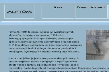 Firma Alptom - Murarz Jastrzębie-Zdrój