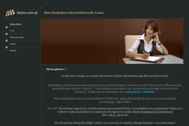 Biuro Rachunkowe Ryszard Rostowski - Biuro rachunkowe Leszno