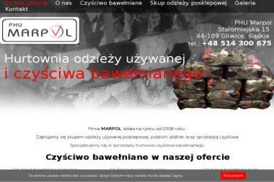 PHU MARPOL Mariusz Kaczmarek - Odzież Używana Gliwice