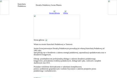 Kancelaria Podatkowa Iwona Płaneta - Porady Podatkowe Tarnów