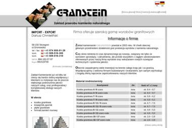 GRANSTEIN Import-Export Dariusz Chmieliński - Ziemia ogrodowa Strzegom