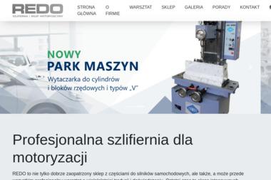 """SZLIFIERNIA, SKLEP MOTORYZACYJNY """"REDO"""" - Auto gaz ŻORY"""