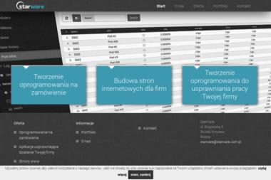 """Firma Informatyczna """"Starware"""" Marek Janukowicz - Internet Miękinia"""