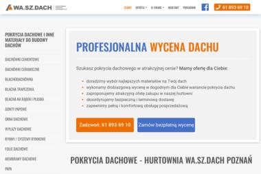 WA.SZ.DACH Sp. z o.o. Hurtownia Pokryć Dachowych - Okna Aluminiowe Poznań