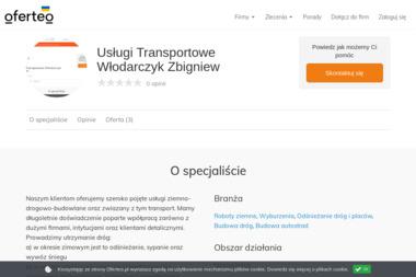 Usługi Transportowe Włodarczyk Zbigniew - Budowa dróg Karczew