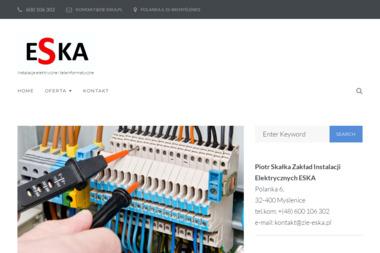 Zakład Instalacji Elektrycznych ESKA - Domy szkieletowe Myślenice