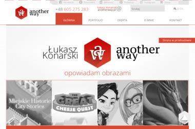 Another way - studio graficzne - Łukasz Konarski - Identyfikacja wizualna Wrocław