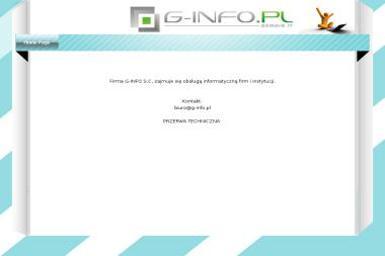 G-INFO S.C. - Usługi Programistyczne Rzeszów