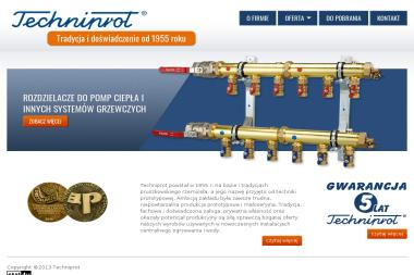 """PTSP """"Techniprot"""" - Systemy Sterowania Ogrzewaniem Pruszków"""