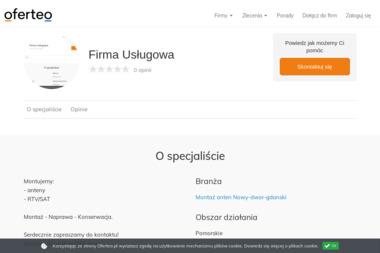 Firma Usługowa - Instalacja Anten Satelitarnych STEGNA