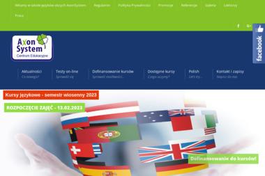 Axon System Centrum Edukacyjne - Język Angielski Kraków