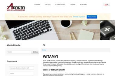 Biuro Rachunkowe AKONTO - Pożyczki Hipoteczne Szczecin