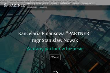 Kancelaria Finansowa PARTNER mgr Stanisław Nowak - Deklaracje Podatkowe Świętochłowice