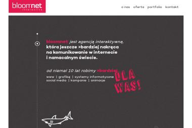 BloomNet Interactive - Sklep internetowy Olsztyn
