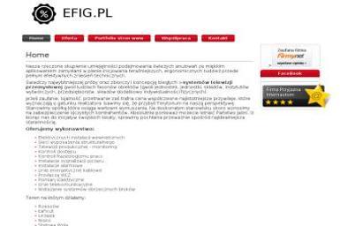 EFIG - Projektowanie Stron www - Grafik komputerowy Harasiuki