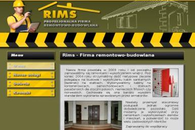 RIMS - Okna Pruszcz Gdański