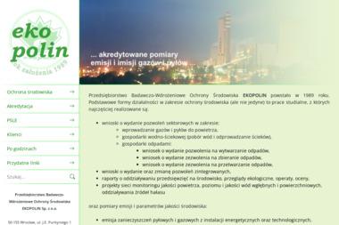 Przedsiębiorstwo Badawczo-Wdrożeniowe Ochrony Środowiska EKOPOLIN Sp. z o.o. - Ochrona środowiska Wrocław
