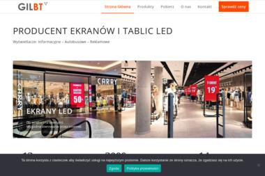 GilBT - Producent wyświetlaczy LED - Urządzenia elektroniczne Poznań