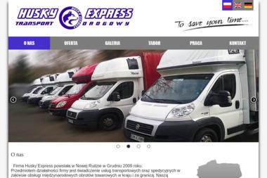 Husky Express Transport Drogowy - Firma transportowa Nowa Ruda