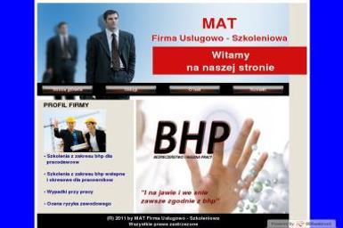 """""""MAT"""" Firma Usługowo-Szkoleniowa Tomasz Dutkiewicz - Doradca podatkowy Świdnica"""