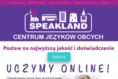 Centrum Języków Obcych SPEAKLAND - Szkolenia BHP Brodnica