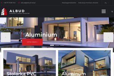Firma Albud, Producent Drzwi i Okien, Romuald Hil - Okna aluminiowe Raciborowice Górne