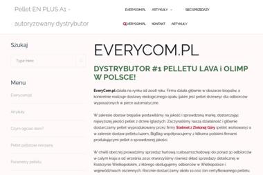 Everycom.pl Michal Przybylski - Pellet Kostrzyn
