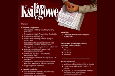 BIURO RACHUNKOWE - Księgowanie Przychodów i Rozchodów LIBIĄŻ
