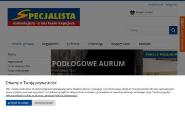 Specjalista Sp zo. o - Producent Okien PCV Pyskowice