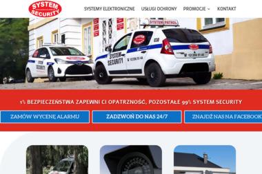 SYSTEM SECURITY Sp.zoo - Agencja ochrony Kocmyrzów
