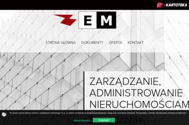 """""""E & M Spółka z o.o."""" - Odbiór Gruzu Łódź"""