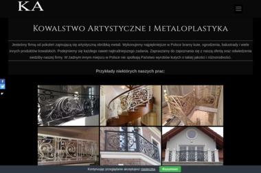 ARKIT Kowalstwo Artystyczne A. Rosiński - Ogrodzenie Panelowe Grodzisk Maz.