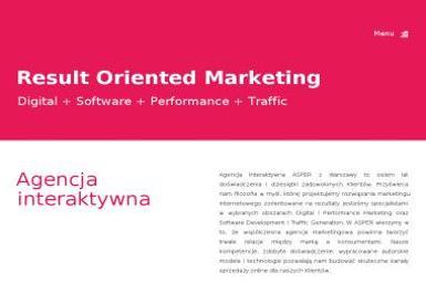 Asper interactive agency - Branding Warszawa