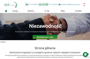 Ave Cargo Sp. z o.o. - Transport ciężarowy krajowy Wrocław