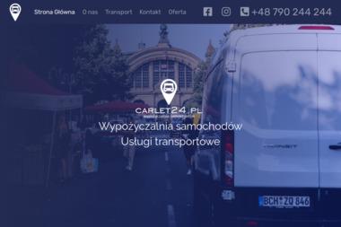 """""""CARLET24"""" - Transport Paletowy Międzynarodowy Gliwice"""