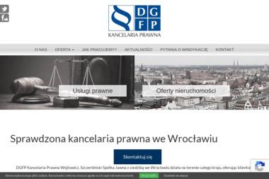 DGFP Kancelaria Prawna Wojtowicz, Szczerbiński Spółka Jawna - Skup długów Wrocław