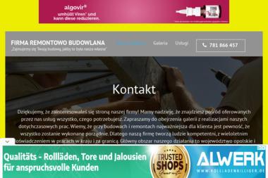 FIRMA REMONTOWO-BUDOWLANA - Budowanie Ząbkowice Śląskie