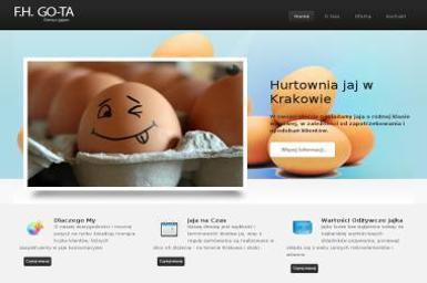 """Piotr Cieślik, Anna Cieślik F.H. GO-TA"""" - Cukiernia Kraków"""