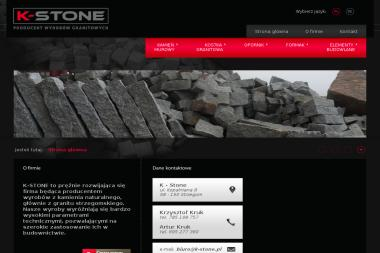 K-Stone Producent Wyrobów Granitowych - Kostka betonowa Strzegom