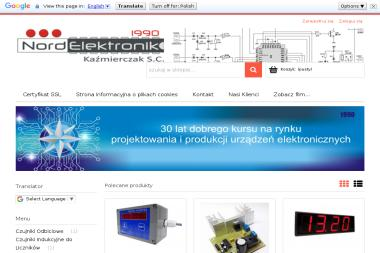 NORD ELEKTRONIK KAŹMIERCZAK S.C. - Automatyka, elektronika, urządzenia SŁUPSK