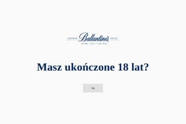 Sklep Ballantines - Hurtownia Alkoholi Warszawa