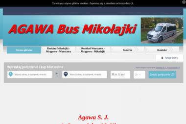 AGAWA s.j. - Przewóz osób Mikołajki