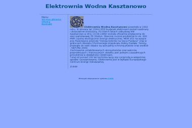 Elektrownia Wodna Kasztanowo - Henryk Janowiak - Dla energetyki i gazownictwa Lubomino