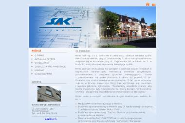 Sak - Transport międzynarodowy Koszalin