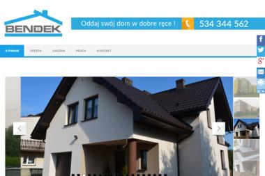 BENDEK - Budowa domów Poręba